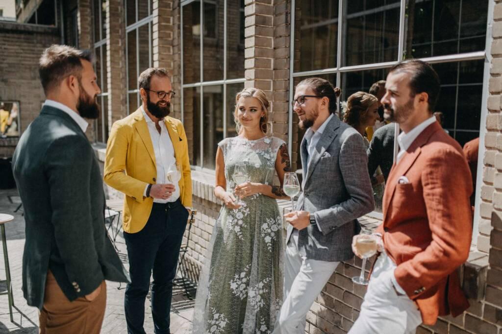 Svatební agentura Praha - kolekce sak