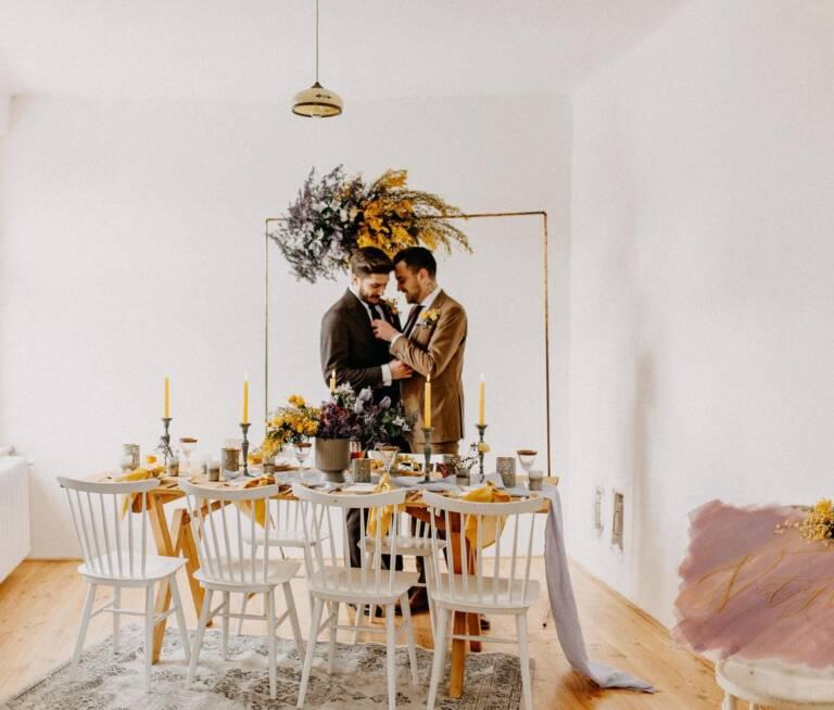 Svatební agentura Praha - Jarní gay svatba