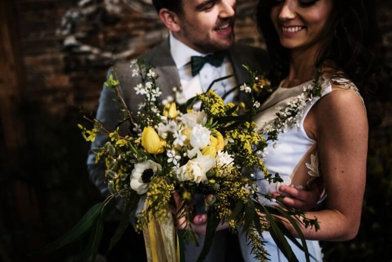 industriální svatba